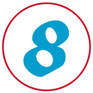 paoline icona numeri importanza contatto digitale 08